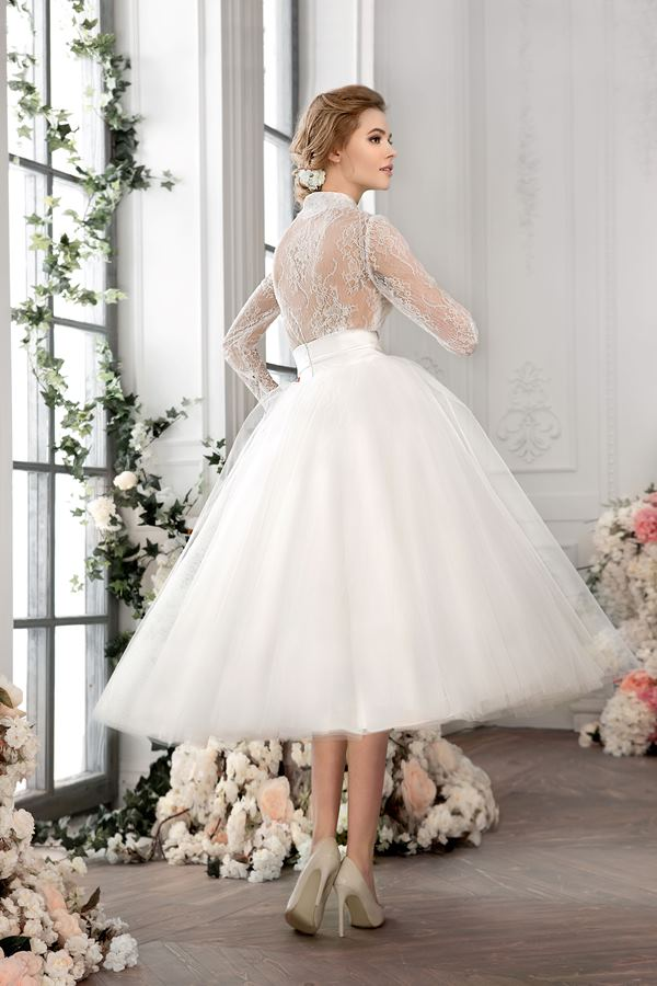 Блузка и юбка свадебные