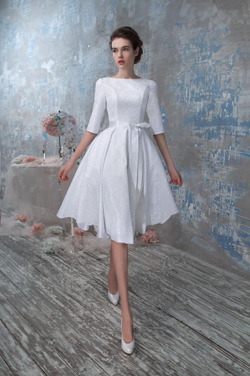 Фото платья короткое атлас