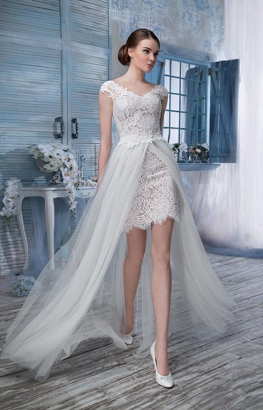 Короткие трансформеры платья